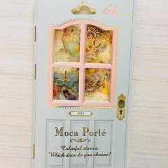 Japan Q-Lia Moca Porte Flake Stickers 64pcs - Parrots