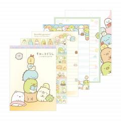 Japan Sumikko Gurashi A6 Memo Pad - Reading