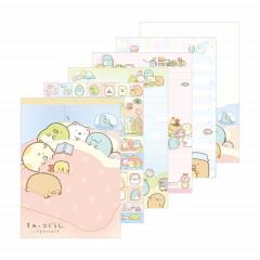 Japan Sumikko Gurashi A6 Memo Pad - Bed Time
