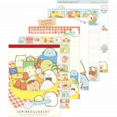 Japan Sumikko Gurashi A6 Notepad - Lunch Box