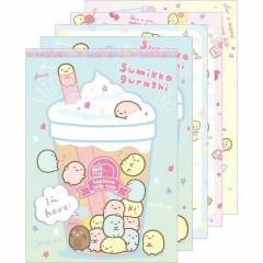 Japan Sumikko Gurashi A6 Memo Pad - Ice Cream