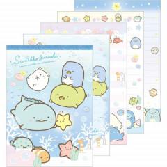 Japan Sumikko Gurashi A6 Notepad - Swimming in the Sea