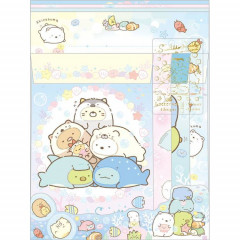 Japan Sumikko Gurashi Letter Envelope Set - Summer Time