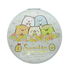 Japan Sumikko Gurashi Hand Mirror - Light Blue