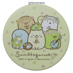 Japan Sumikko Gurashi Hand Mirror - Light Yellow