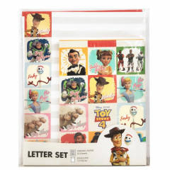 Japan Disney Letter Envelope Set - Toy Story 4 Woody & New Friends