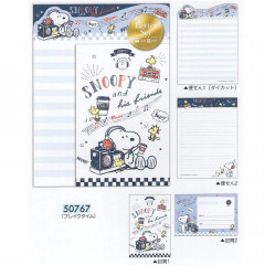 Japan Snoopy Letter Envelope Set - Music Time