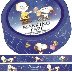 Japanese Washi Paper Masking Tape - Snoopy Star Night