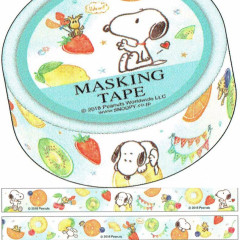 Japanese Washi Paper Masking Tape - Snoopy & Fruits