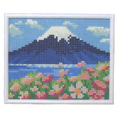 MotoHiro Skill Mini Gallery Heart Full Collection Beadwork Kit - Fuji