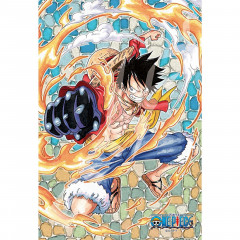 Japan One Piece Art Crystal Jigsaw Puzzle 126pcs - Luffy