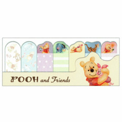 Japan Disney Winnie the Pooh & Friends Memo Sticker