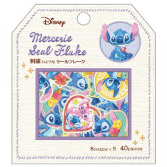 Japan Disney Masking Seal Flake Sticker - Stitch 626 Alien