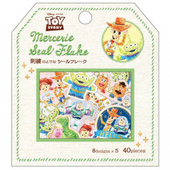 Japan Disney Masking Seal Flake Sticker - Toy Story Woody & Friends