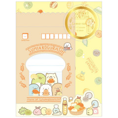 Japan Sumikko Gurashi Letter Envelope Set - Bread