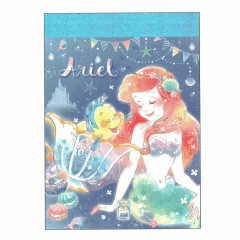 Japan Disney B8 Mini Memo Set - Little Mermaid Ariel