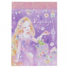 Japan Disney B8 Mini Notepad - Princess Rapunzel