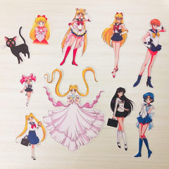 Sailor Moon Sticker Flakes 10pcs