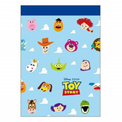 Japan Disney B8 Mini Notepad - Toy Story Characters