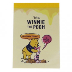Japan Disney B8 Mini Memo Set - Winnie the Pooh