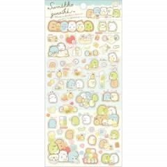 Japan San-X Sumikko Gurashi Seal Sticker -  Rice