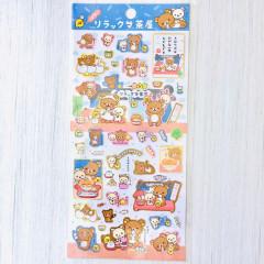 Japan San-X Rilakkuma Bear Seal Sticker - Dango