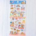 Japan San-X Rilakkuma Bear Seal Sticker - Dango - 1