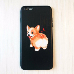 Cute Cartoon Corgi Butt Phone Case