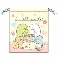 Japan Sumikko Gurashi Drawstring Bag - Dolls