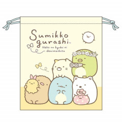 Japan Sumikko Gurashi Drawstring Bag - Hanging