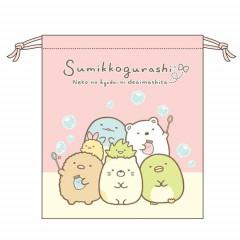 Japan Sumikko Gurashi Drawstring Bag - Bubbling