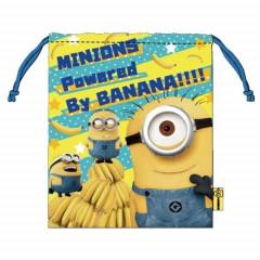 Japan Despicable Me Drawstring Bag - Minions Power By Banana
