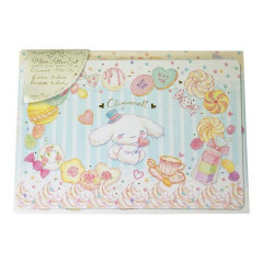Japan Sanrio Letter Envelope Set - Cinnamoroll Watercolor