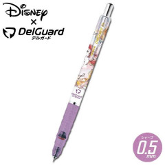 Japan Disney Zebra DelGuard 0.5mm Lead Mechanical Pencil - Princess Ariel Alice Rapunzel