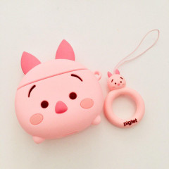 TSUM TSUM Piglet AirPods Case with Ring Holder