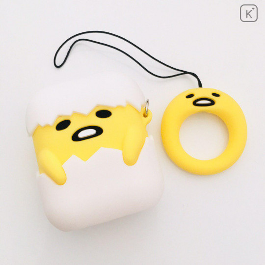 Gudetama Egg AirPods Case with Ring Holder - 1