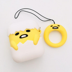 Gudetama Egg AirPods Case with Ring Holder