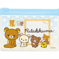 Japan Rillakkuma Sticky Memo with Case - Korilakkuma, Kiiroitori & Chairoikoguma