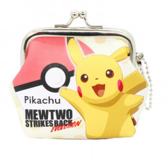 Japan Pokemon Coin Purse Wallet - Pikachu & Pokect Monsters Evolution