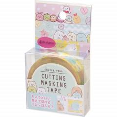 San-X Japanese Washi Paper Cutting Masking Tape - Sumikko Gurashi 15mm × 12m