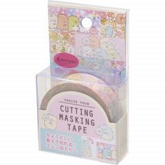 San-X Japanese Washi Paper Cutting Masking Tape - Sumikko Gurashi Flower 15mm × 12m