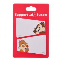 Japan Disney Sticky Memo - Chip & Dale Cheer Up