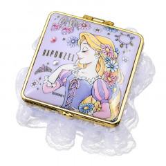 Japan Disney Notepad Memo Mirror Jewelry Box - Rapunzel