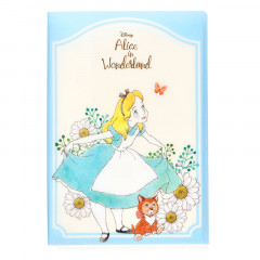 Japan Disney Letter Envelope Set with File - Alice in Wonderland & Cheshire Cat