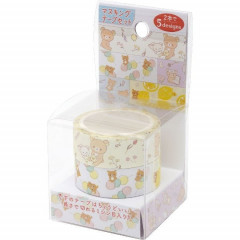 San-X Japanese Washi Paper Cutting Masking Tape - Rilakkuma 2 Roll