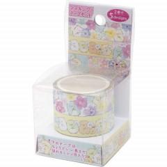San-X Japanese Washi Paper Cutting Masking Tape - Sumikko Gurashi 2 Roll