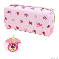 Japan Disney Makeup Bag Pencil Case (M)  - Toy Story Lotso Bear