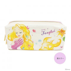 Japan Disney Pencil Case (M) - Princess Rapunzel White