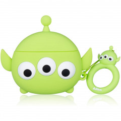 TSUM TSUM Little Green Men AirPods Case with Ring Holder