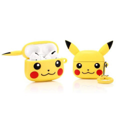 Pokemon Pikachu AirPods Case with Ring Holder